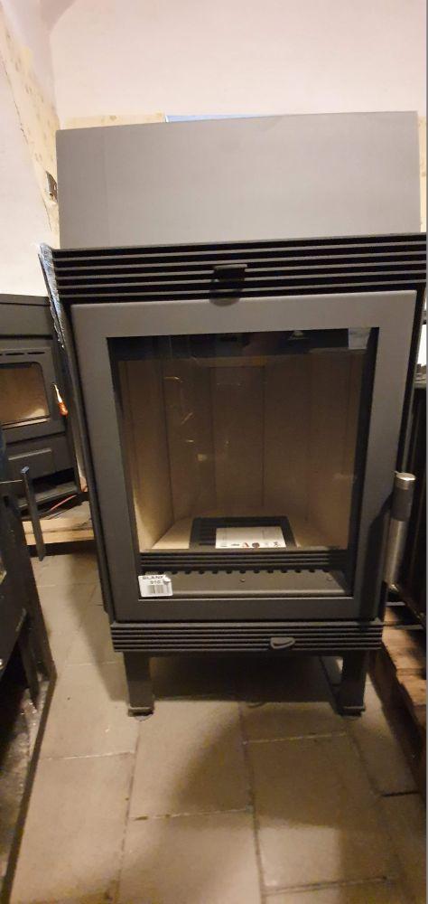 KRATKI Blanka 8 kW rovné sklo